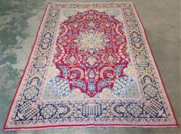 Sale 9218 - Lot 1024 - Hand knotted pure wool Persian tabriz (300 x 207cm)