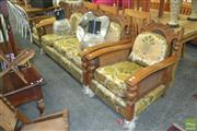 Sale 8338 - Lot 1330 - Jarvi Three Piece Lounge Suite incl. Three Seater & Two Armchairs