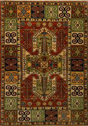 Sale 8439C - Lot 6 - Afghan Super Kazak 180cm x 128cm