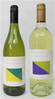 Sale 8528W - Lot 10 - 12x Simon Whitlam & Co Hunter Valley Mixed Whites. 6 Bottles x 2014 Hunter Valley Chardonnay - a well-structured Chardonnay with a f...