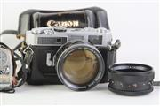 Sale 8810 - Lot 61 - Canon Number 7 Camera With Canon 50mm Lens