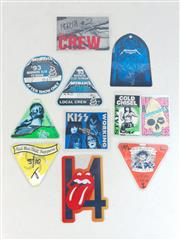 Sale 8960M - Lot 29 - Collection of Backstage, AAA and After Show Passes for Rolling Stones, Kiss, Metallica, RHCP, AC\DC, Ramones, Cold Chisel and Bon Jovi