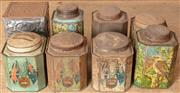 Sale 8984H - Lot 398 - A collection of Australian themed bushells tea tins