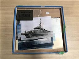 Sale 9180 - Lot 2071 - Australias Naval Heritage Booklet with Navy Boat Information Cards & Capstan Navy Cut Cigarettes Tin