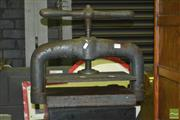 Sale 8287 - Lot 1032 - Victorian Cast Iron Bookpress