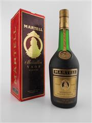 Sale 8479 - Lot 1717 - 1x Martell Medaillon VSOP Cognac - old botting in box