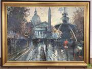 Sale 8649R - Lot 101 - Oil on Canvas - signed lower right (95.5 x 68cm)