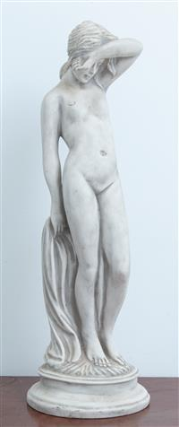 Sale 8934H - Lot 57 - A resin figure of a classical lady Height 54cm