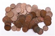 Sale 9018O - Lot 844 - Small Collection of Pennies