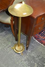 Sale 8093 - Lot 1750 - Brass Adjustable Stand