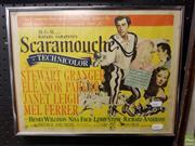 Sale 8613 - Lot 2097 - Framed Lobby Card of Scaramouche