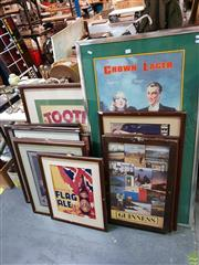 Sale 8645 - Lot 2079 - Collection of Pub Signs (12)