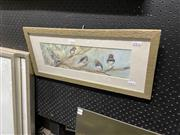 Sale 8898 - Lot 2087 - Evelyn Antonysen - Chorus Line, watercolour, 24 x 55cm (frame size), signed lower right