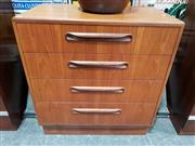 Sale 8908 - Lot 1005 - G-Plan Teak 4-Drawer Chest