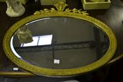 Sale 8093 - Lot 1754 - Empire Style Gilt Framed Mirror