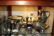 Sale 8231 - Lot 100 - Silver Plated Tureen With Other Plated Wares Inc Footed Dish And Ewer