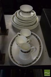 Sale 8530 - Lot 2165 - Royal Tuscan Part Dinner Service