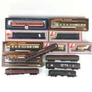 Sale 8545N - Lot 162 - Collection of Lima and Mainline Model Train Carriages