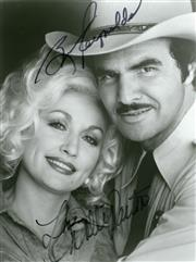 Sale 8834A - Lot 5068 - Burt Reynolds and Dolly Parton