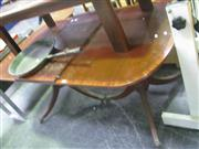 Sale 7933A - Lot 1127 - Twin Pedestal Dining Table with Claw Feet