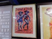 Sale 8429A - Lot 2060 - Framed Festival of Perth Poster