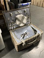 Sale 8797 - Lot 2481 - Wheel & Barrow Picnic Basket