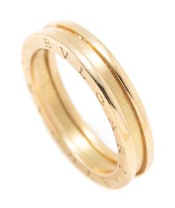 Sale 9177 - Lot 380 - AN 18CT GOLD BVLGARI B ZERO 1 RING; 4.6mm wide, size 58 (U), with stamps and hallmarks, wt. 8.88g.
