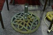 Sale 8031 - Lot 1032 - Cast Iron Umbrella Stand