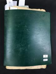 Sale 8539M - Lot 94 - Keith Abson's 'Magic Scrapbook', book no. 18. Compiled April 1983. Includes Harrie Ensor collection of handwritten papers c. 1904-19