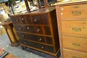 Sale 7987A - Lot 1099 - Raised Chest of 5 Drawers