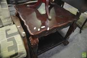 Sale 8338 - Lot 1667 - Side Table on Ball & Claw Feet