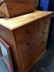 Sale 8740 - Lot 1695 - Pine 5 Drawer Chest
