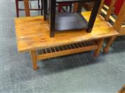 Sale 7969A - Lot 1054 - Timber Two Tiered Coffee Table
