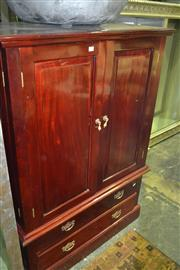 Sale 8093 - Lot 1477 - Entertainment Cabinet on 2 Drawer Base
