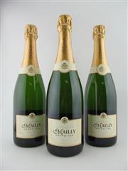 Sale 8411 - Lot 639 - 3x NV Mailly Delice Grand Cru Brut, Champagne