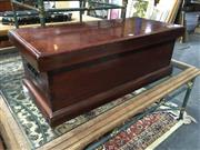 Sale 8795 - Lot 1017 - Timber Lift Top Chest