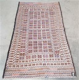 Sale 9154 - Lot 1055 - Hand-knotted Persian woollen sumac ( 187 x 113cm)