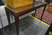 Sale 8326 - Lot 1372 - Timber Hall Table
