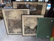 Sale 8407T - Lot 2076 - Collection of (3) editioned and signed prints by Rei Hamon, and publication on Rei Hamon.