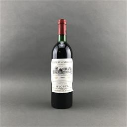 Sale 9120 - Lot 1071 - 1982 Chateau dAngludet, Cru Bourgeois Exceptionnal, Margaux - very high shoulder