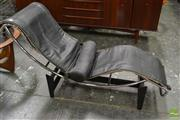 Sale 8511 - Lot 1075 - Le Corbusier Chaise, Signed and Numbered