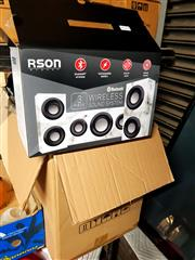 Sale 8659 - Lot 2230 - 8x RSON 3-Pce Wireless Sound System, new in box