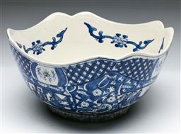 Sale 9144 - Lot 232 - Blue and white Chinese printed bowl (Dia:24cm H:11cm)