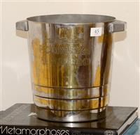 Sale 8171A - Lot 45 - Art Deco French ' Pommery and Greco champagne bucket, H 21cm