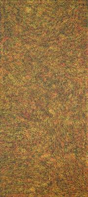 Sale 8301 - Lot 592 - Gracie Morton Pwerle (c1956 - ) - Bush Plum 200 x 90cm