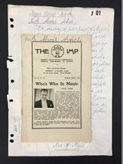 Sale 8539M - Lot 100 - The Imp Magazine, vol. 14 no. 3-4, Mar-Apr 1948. Includes Keith Abson article.