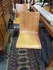 Sale 8566 - Lot 1301 - Pair of Ply Chairs