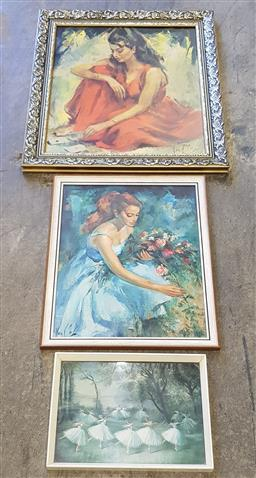 Sale 9174 - Lot 1313A - Collection of retro prints (various sizes)