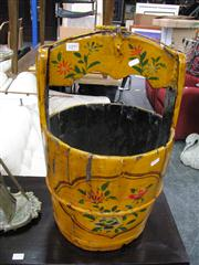 Sale 7972A - Lot 1097 - Pair of Painted Buckets