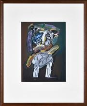 Sale 8382A - Lot 4 - John Smith (1952 - ) - Personages III, 1986 36.5 x 27cm